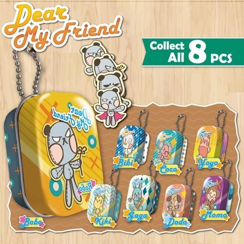 F-DMFTS1 DMF tin box + sticker
