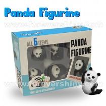 F-PABF-B1 Stretchy Panda Figurine