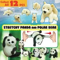 Panda & Bear figure