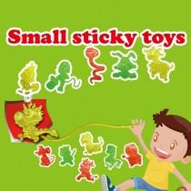 Small sticky toys