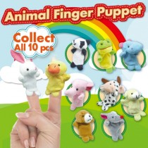 Animal finger puppet