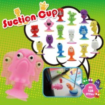 Suction cup monster