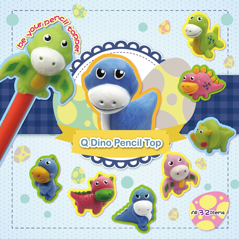 Q Dino Pencil Top