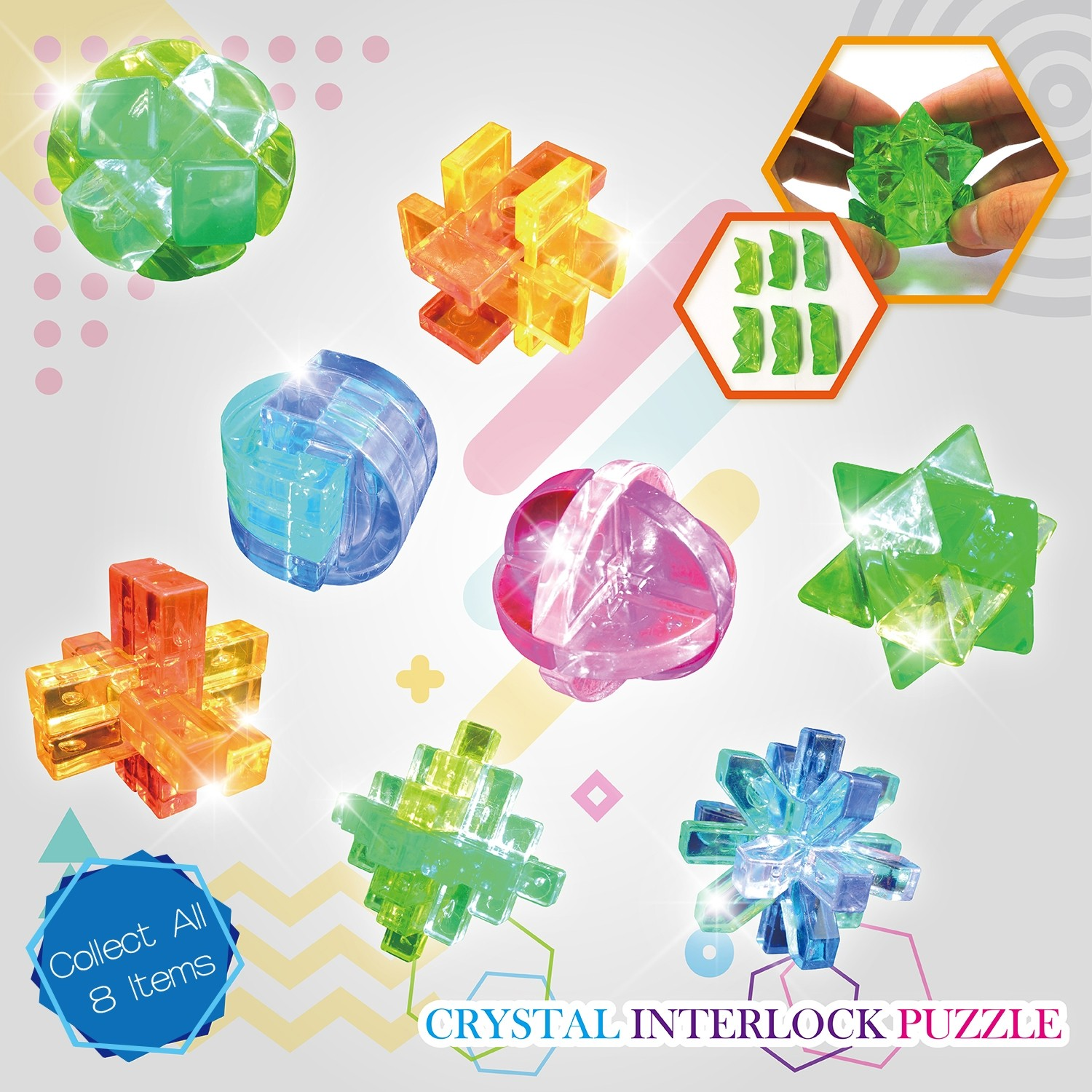 Crystal Interlock Puzzle