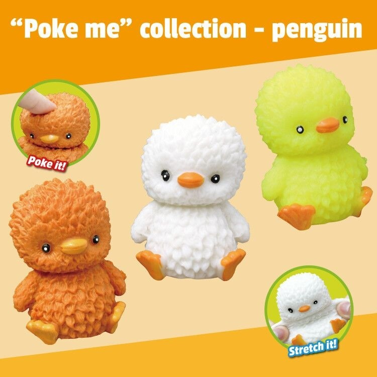 """""""Poke Me"""" Collection - Penguin"""