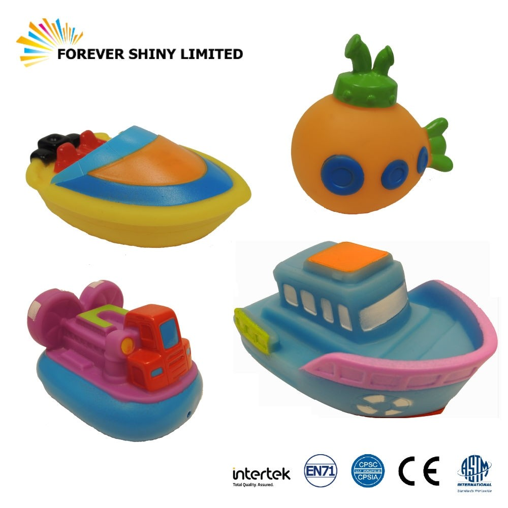 8.7cm Vinyl Ship Bathing Toy