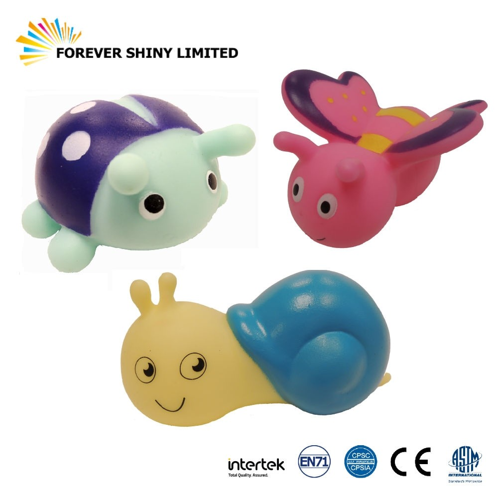 9.5cm Vinyl Insect Bathing Toy