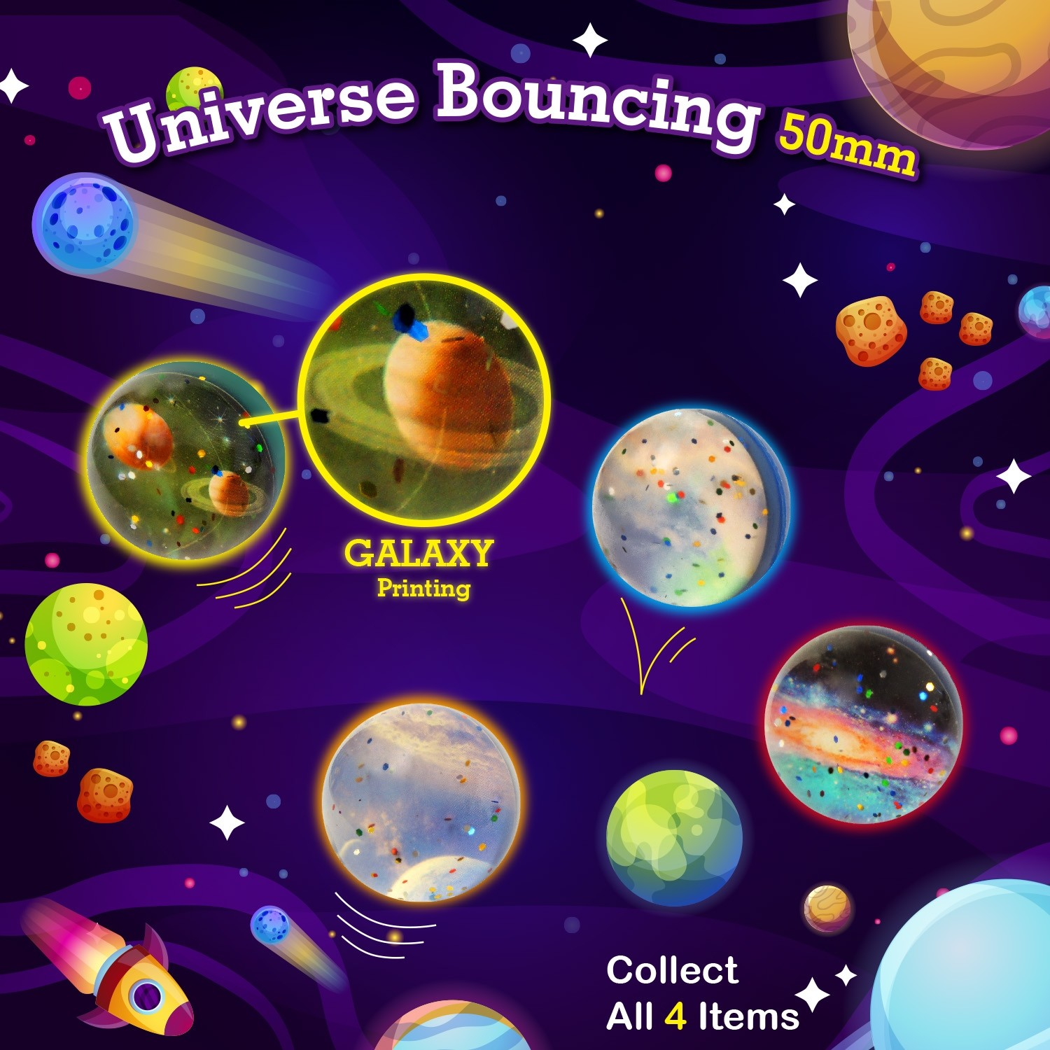 Universe Bouncing Ball 45mm