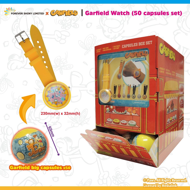 Garfield Watch (50 Capsules Set)