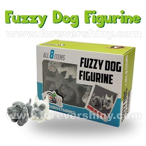 F-DOGFUZ-B1 Fuzzy Dog Figurine