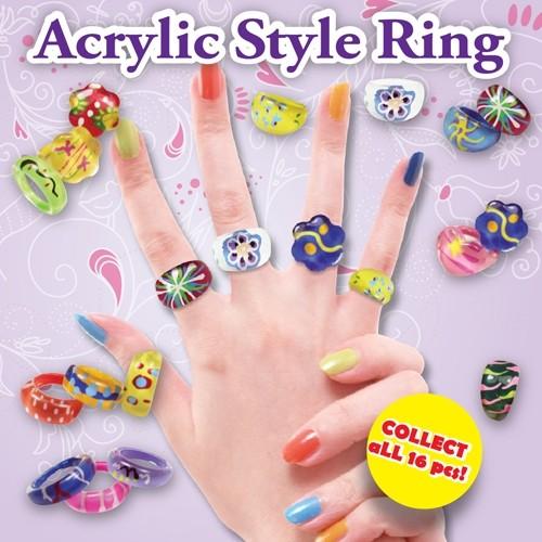 Acrylic Style Ring