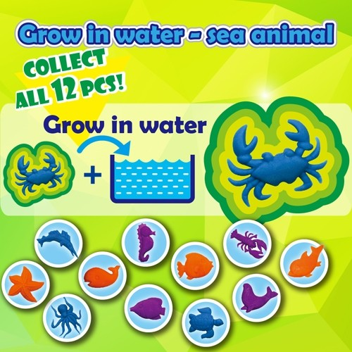 Grow in water - sea animal