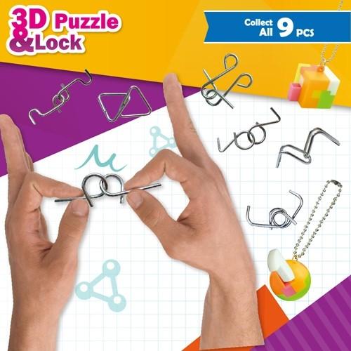 3D PUZZLE & LOCK