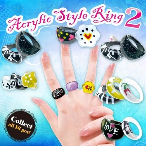 Acrylic Style Ring 2