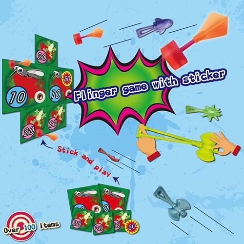 F-FLINGA Flinger Game With Sticker