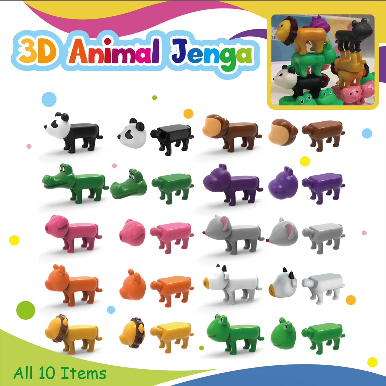 3D Animal Jenga