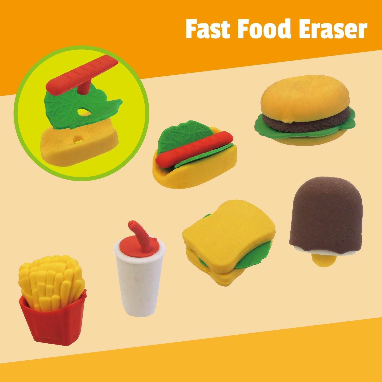 Fast Food Eraser