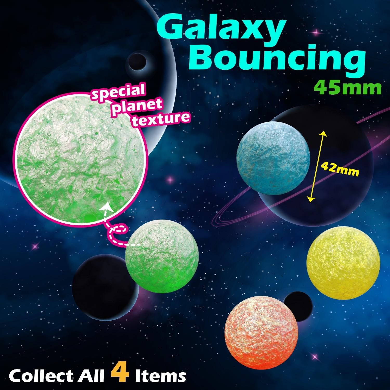 Galaxy Bouncing Ball 45mm