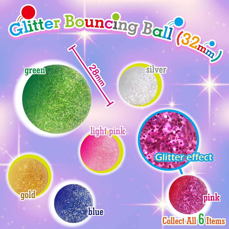 Glitter Bouncing Ball  32mm