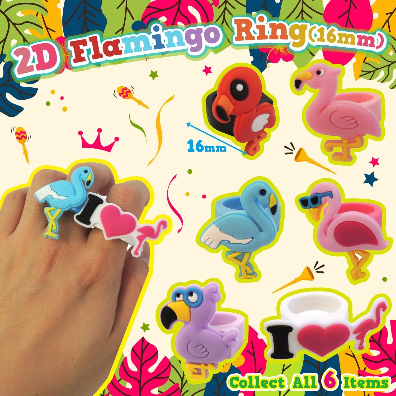 2D Flamingo Ring (16mm)