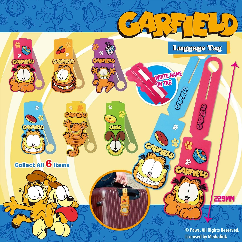 Garfield Luggage Tag