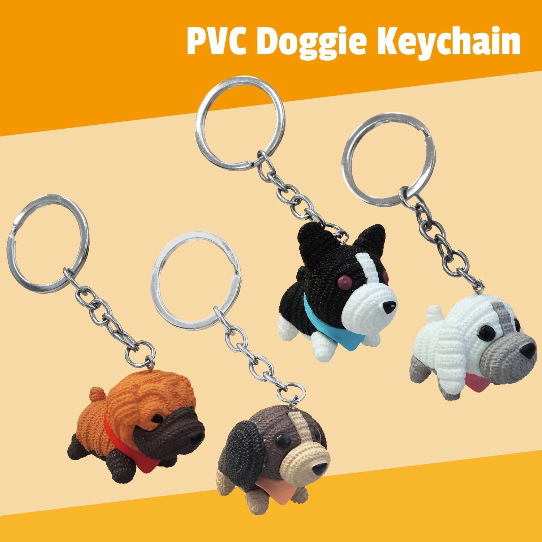 PVC Doggie Keychain