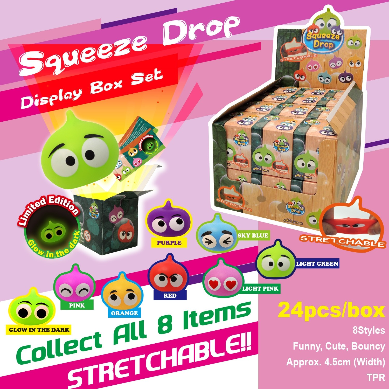 Squeeze Drop Display Box