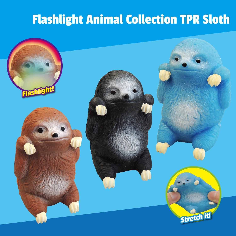 """Flashlight Animal Collection"" TPR Sloth"