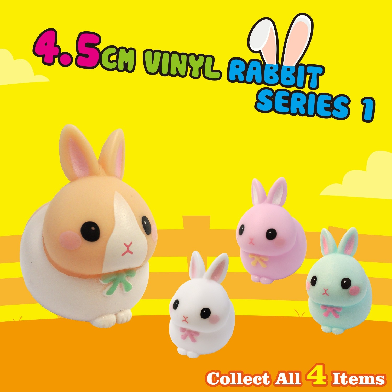 4.5cm Vinyl Rabbit - Series 1