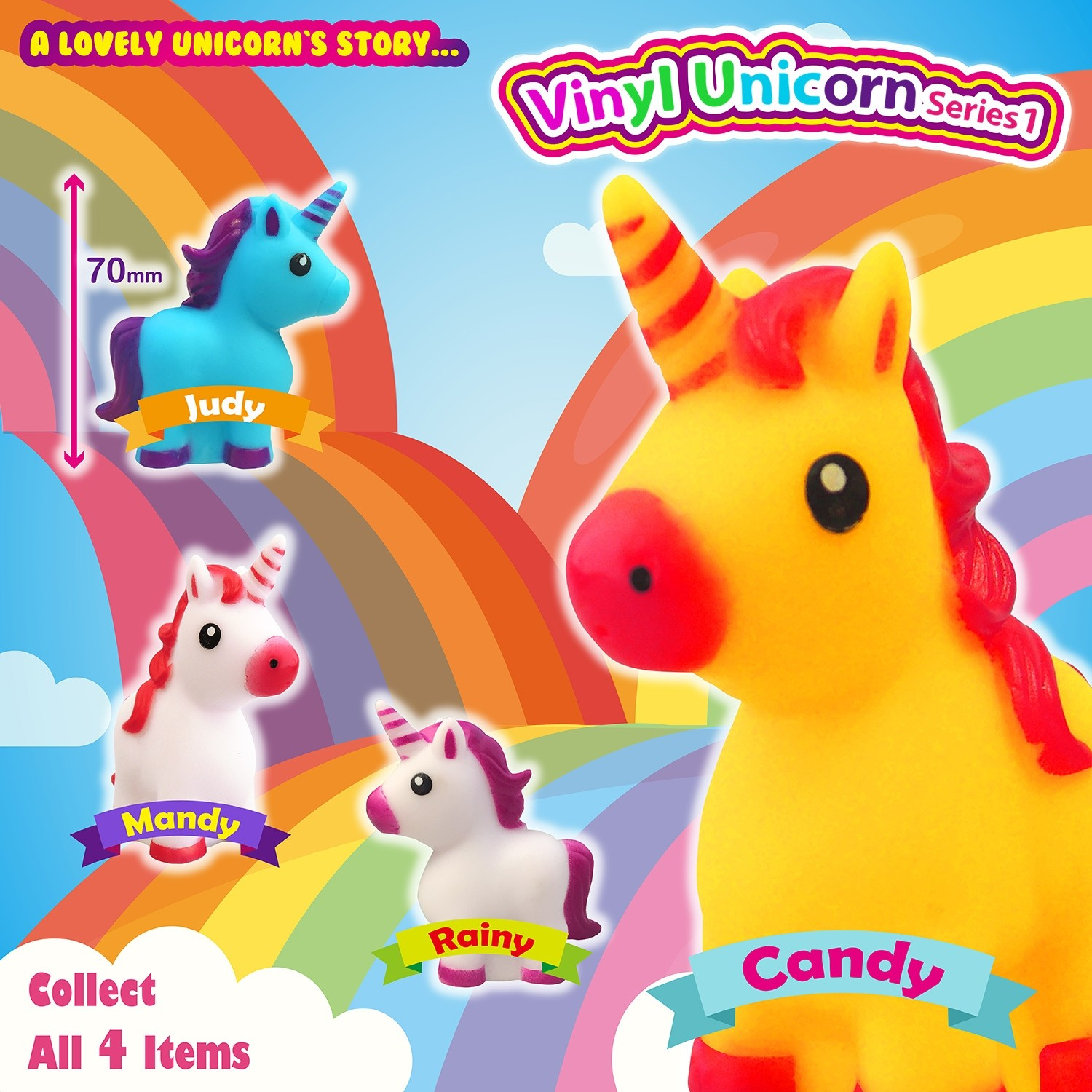 Vinyl Unicorn Series 1