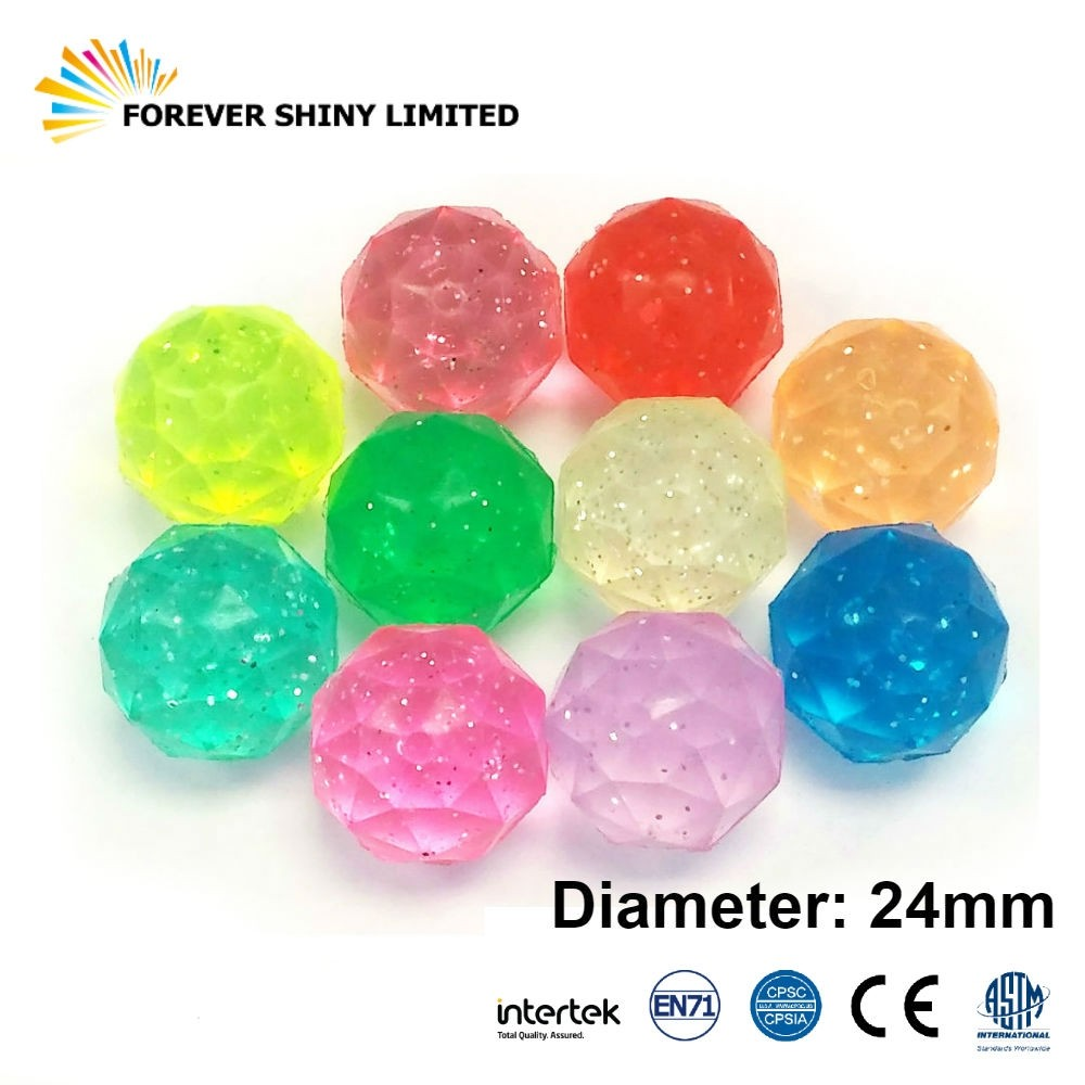 Diamond Shaped Bouncing Ball