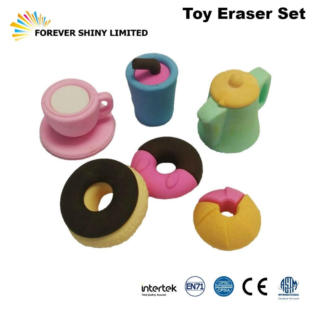 FA04-002 Tea Set Eraser