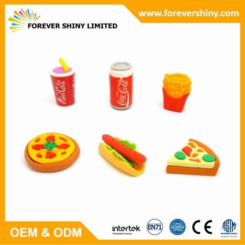 FA04-009 Fast Food Eraser