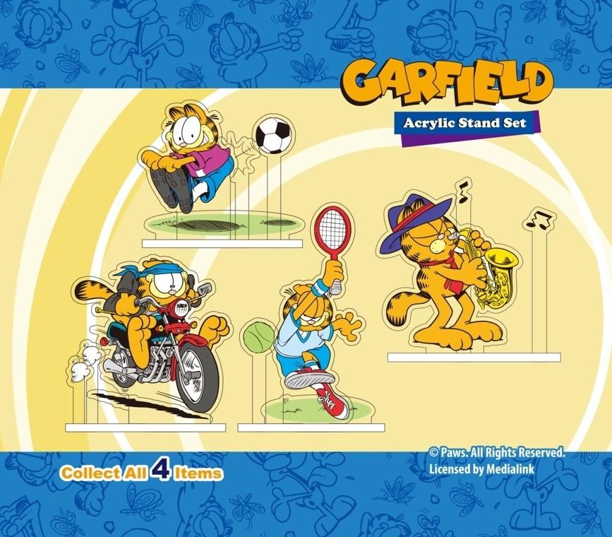 Garfield Acrylic Stand set