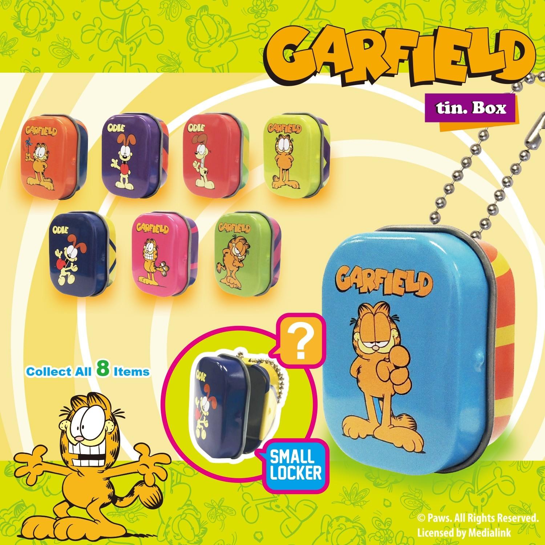 Garfield Tin Box