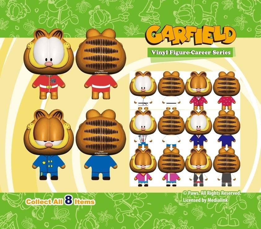 Garfield Vinyl Figure - Career Series