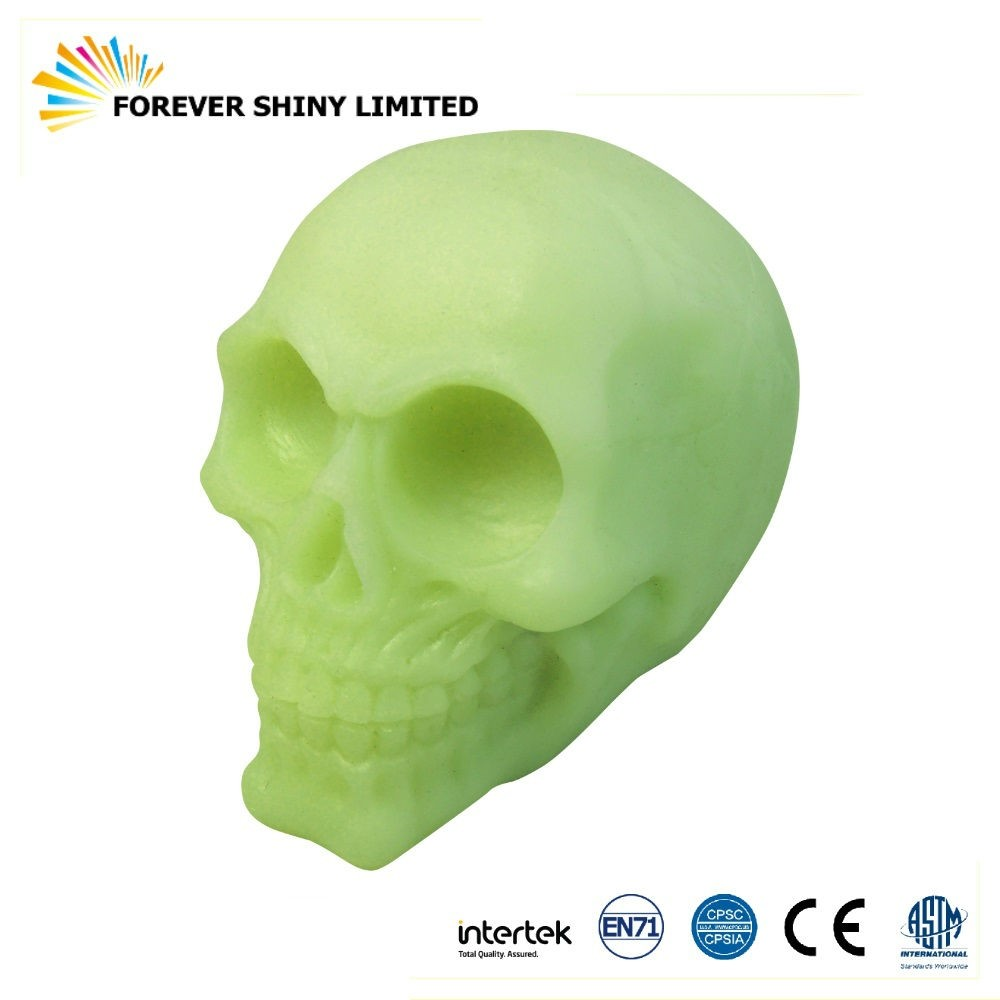 Halloween Skull Glow in the Dark