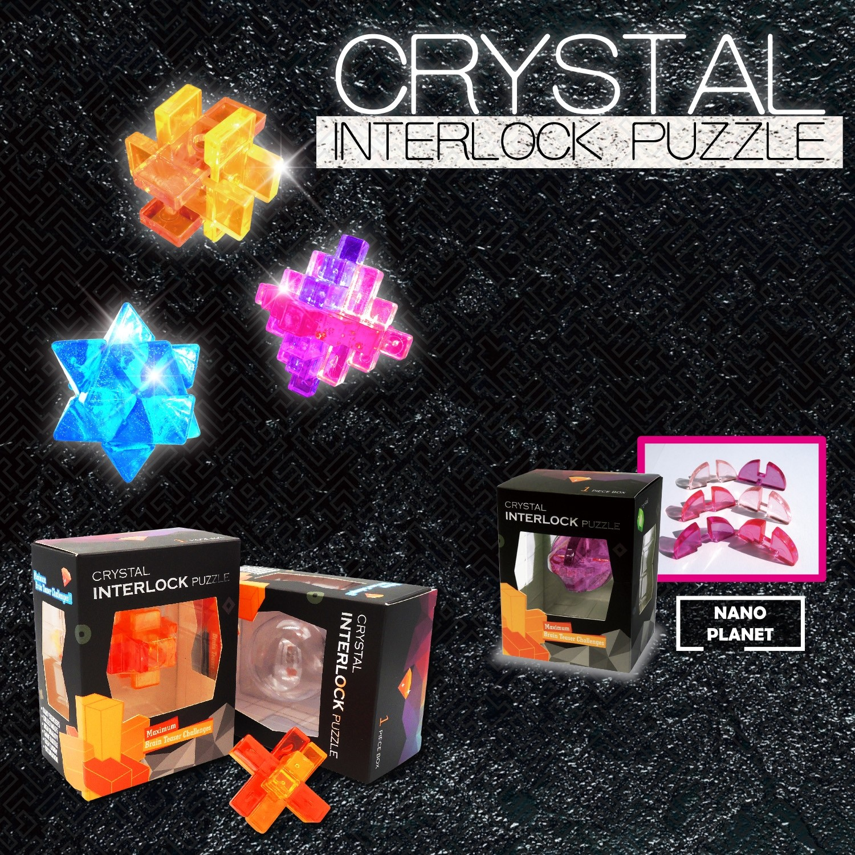Crystal Interlock Puzzle Box Set
