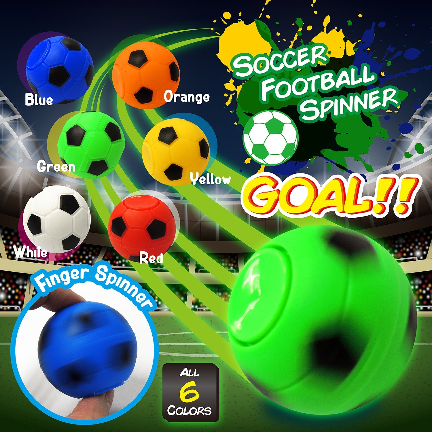 Soccer Football Spinner