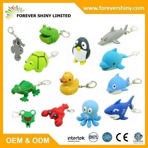 Sea Animal Keychain