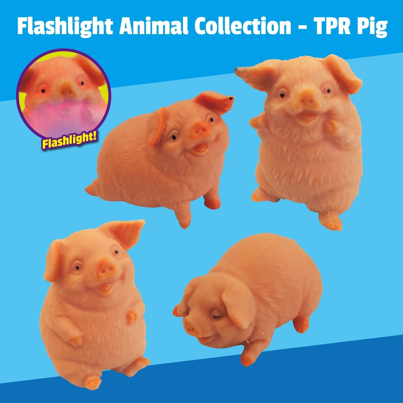 """Flashlight Animal Collection"" TPR Pig"