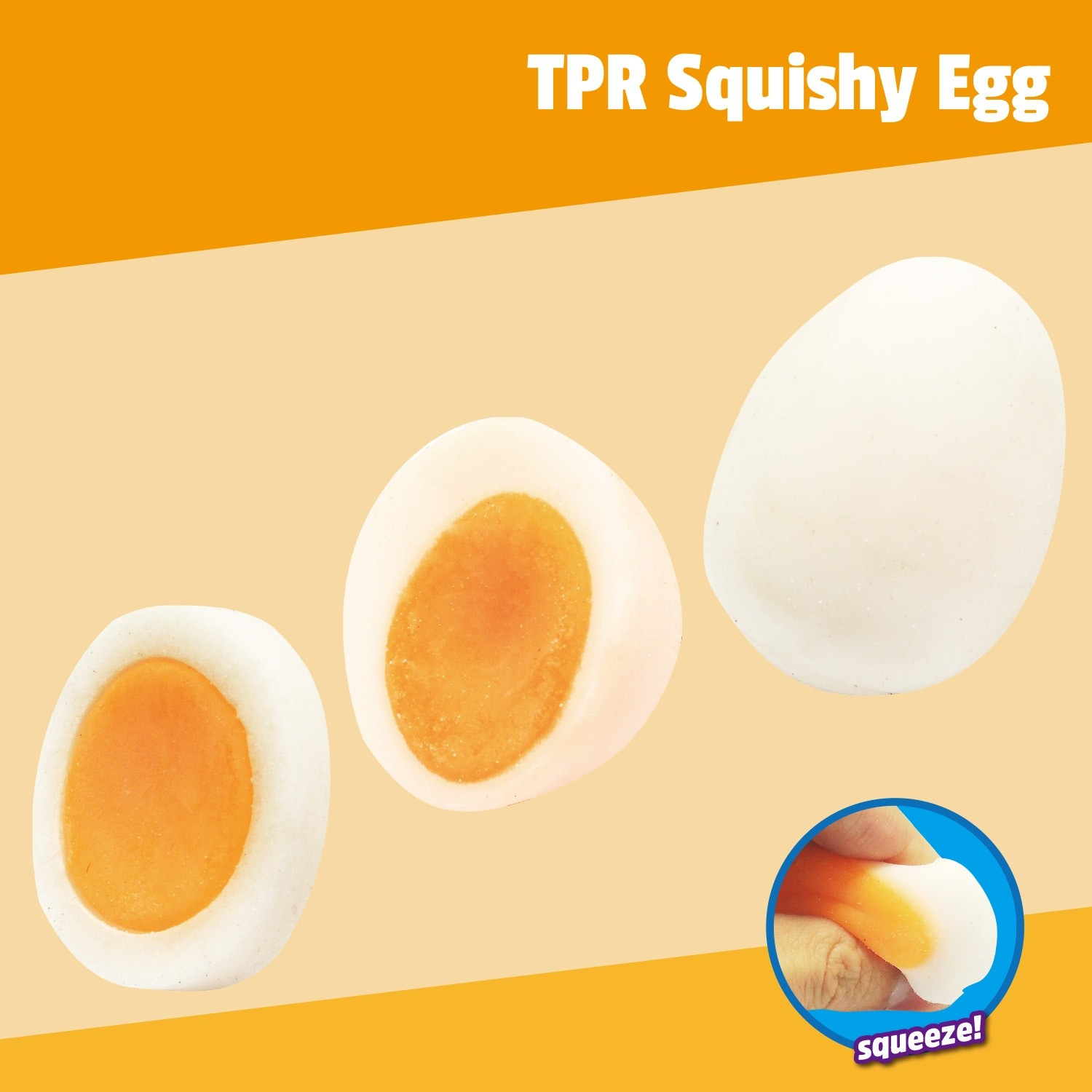 TPR Squishy Egg