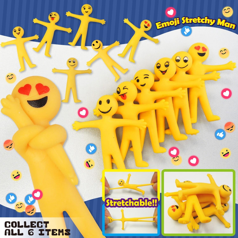 Emoji Stretchy Man