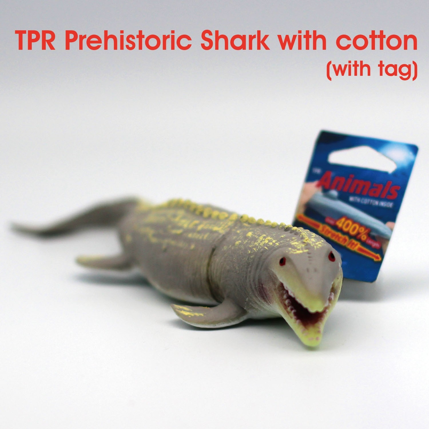 TPR Prehistoric Shark 2 with tag