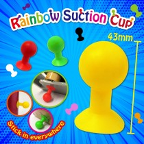 Rainbow Suction Cup