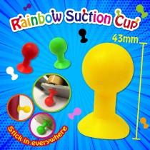 Rainbow Suction Cup