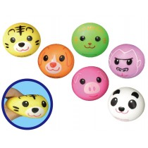 6cm TPR Animal Stress Ball With PVA