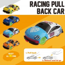 Racing Pall Back Car
