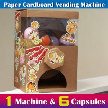 Paper Cardboard Vending Machine