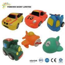 8.7cm Vinyl Car Bathing Toy